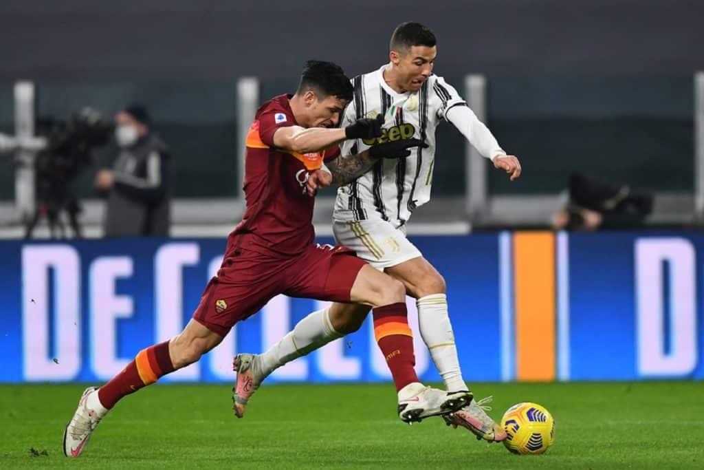 Ronaldo-Ibanez, Juventus-Roma