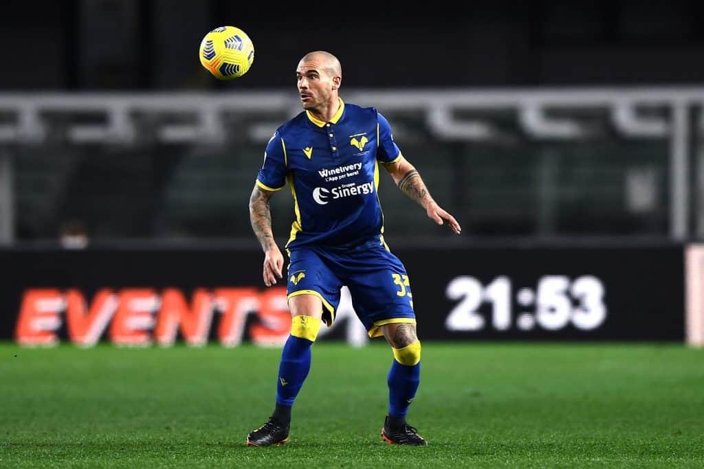 Stefano Sturaro durante Verona-Juventus