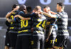 esultanza Inter, gol Lukaku al Genoa