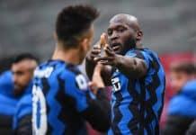 esultanza Lukaku, derby Milan-Inter
