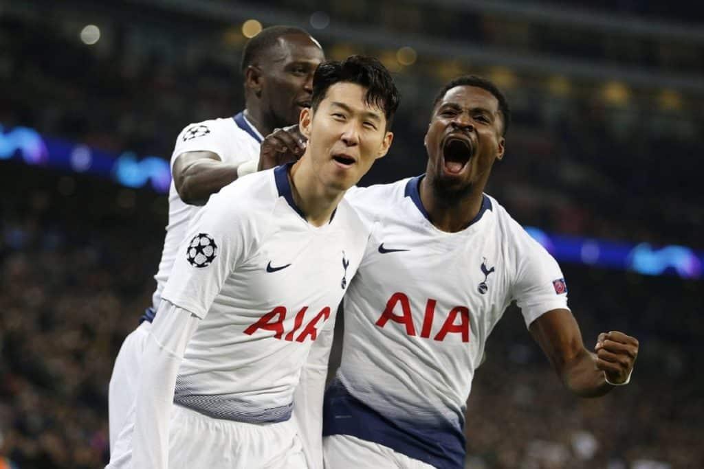 esultanza Tottenham
