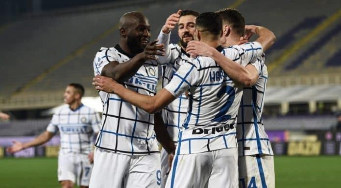 esultanza gol Inter