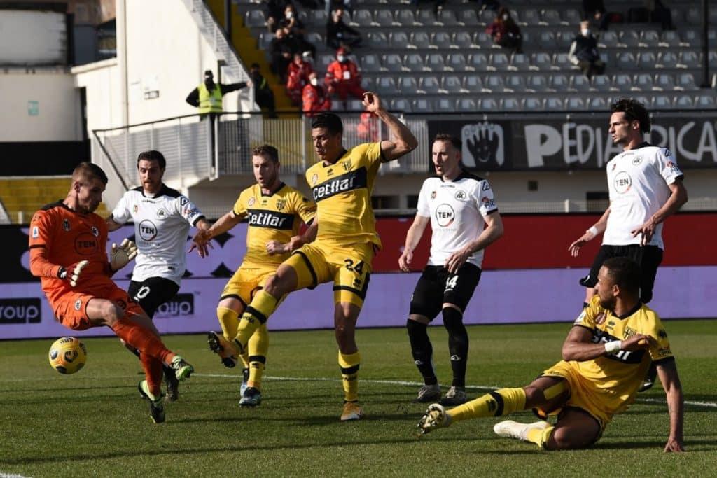 gol Hernani, Spezia-Parma