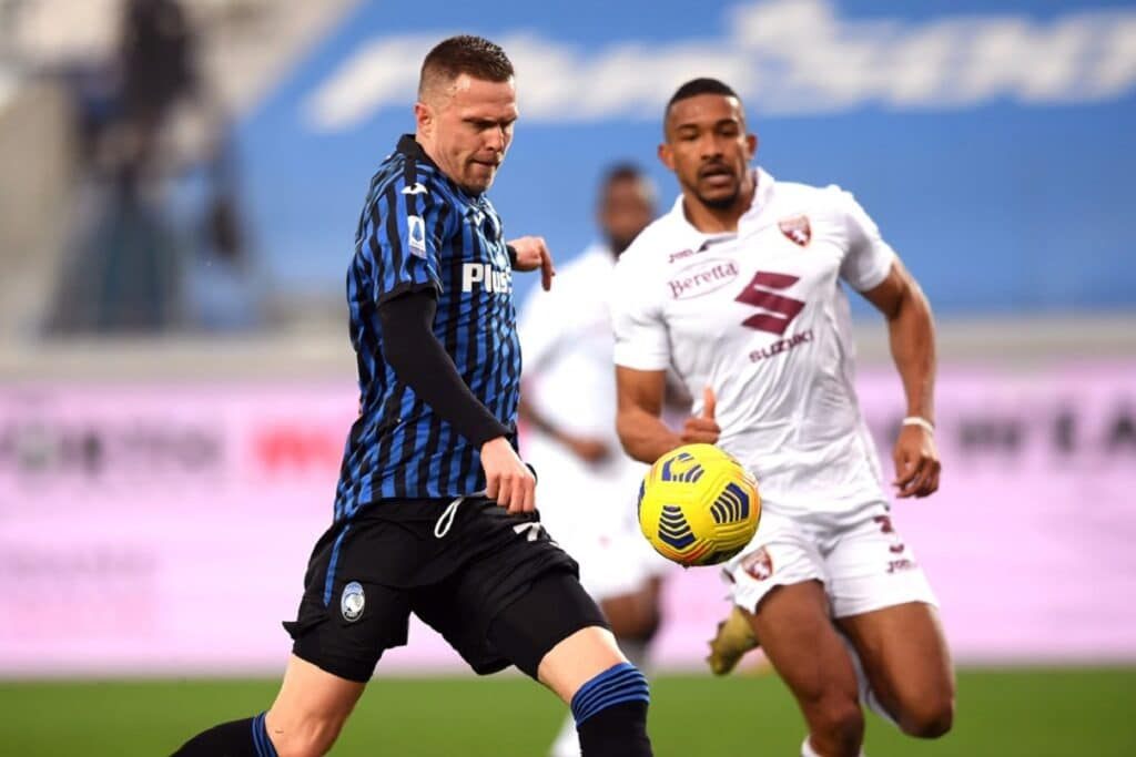 gol Ilicic, Atalanta-Torino