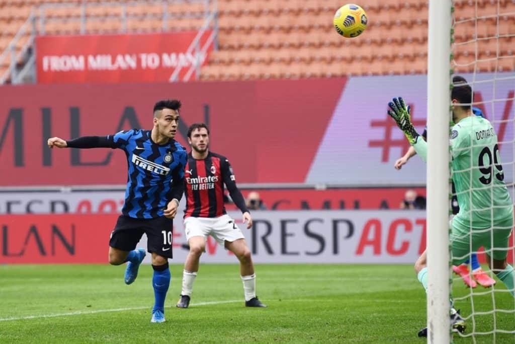 gol Lautaro, derby Milan-Inter