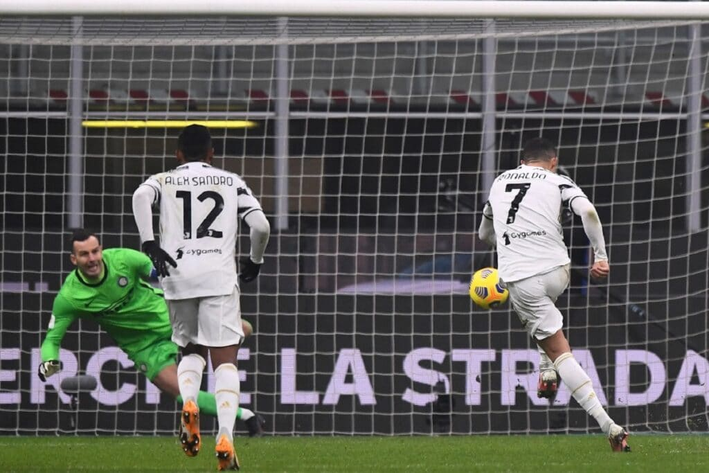 gol rigore Ronaldo, Inter-Juventus
