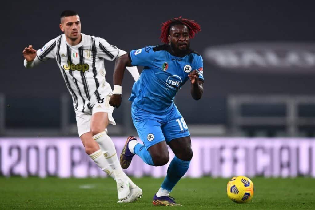 Nzola-Demiral, Juventus-Spezia