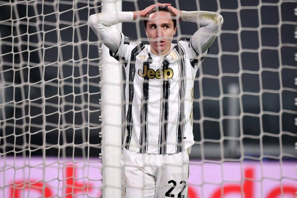 delusione Federico Chiesa, Juventus-Porto