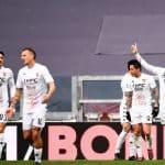 esultanza gol Gaich, Juventus-Benevento