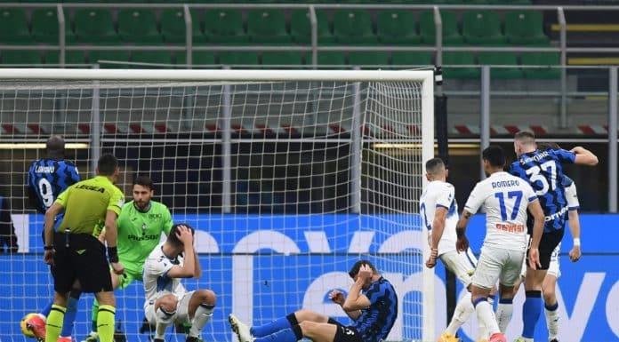 gol Skriniar, Inter-Atalanta