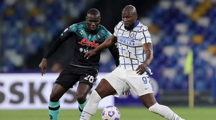 Lukaku-Koulibaly, Napoli-Inter