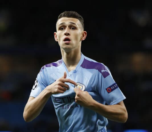 Phil Foden, centrocampista Manchester City