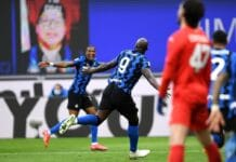 esultanza gol Lukaku, Inter-Sassuolo
