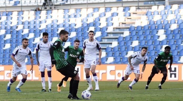 gol Berardi, Sassuolo-Fiorentina