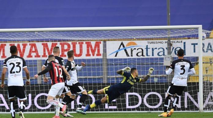 gol Rebic, Parma-Milan