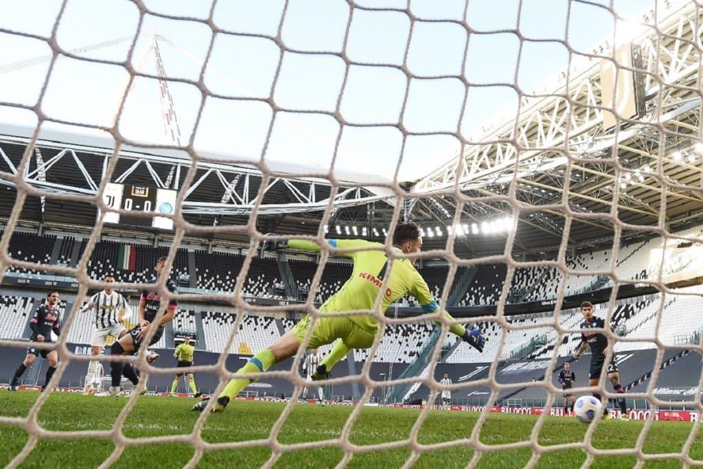 gol Ronaldo, Juventus-Napoli