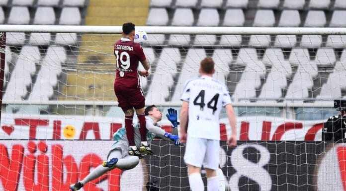 gol Sanabria, Torino-Juventus