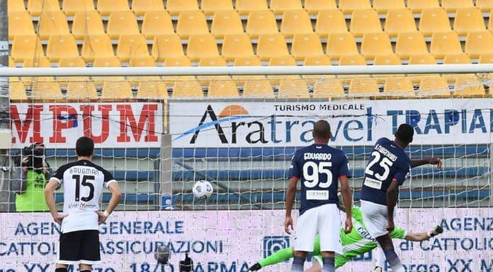 gol Simy, Parma-Sassuolo