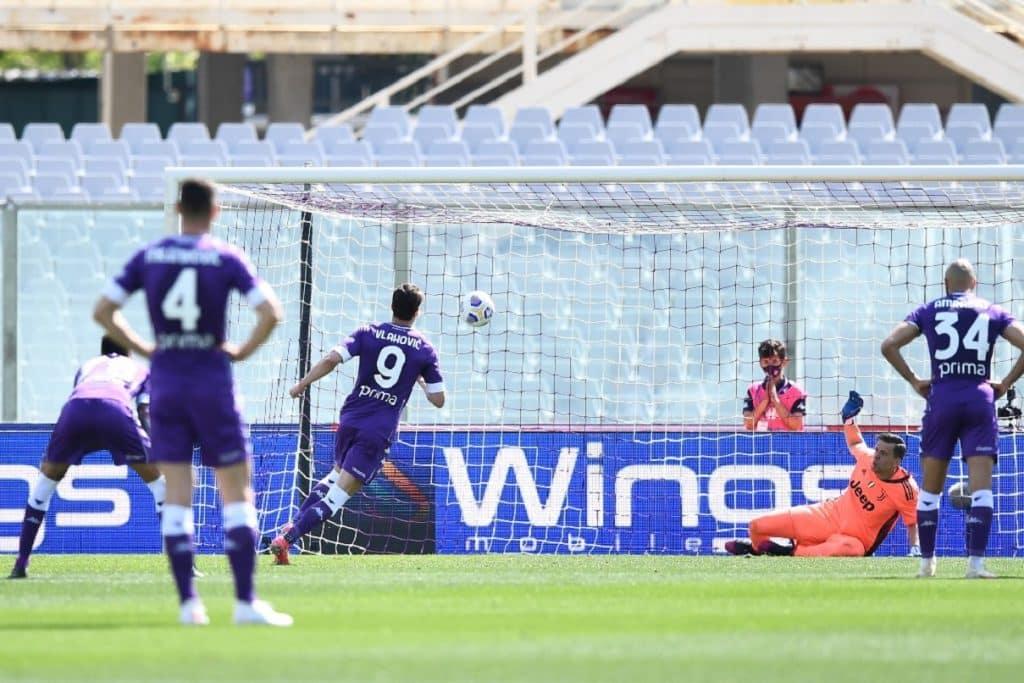 gol Vlahovic, Fiorentina-Juventus