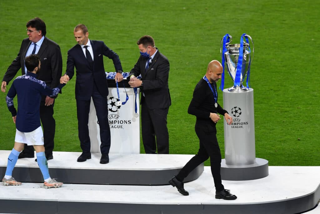 Pep Guardiola, allenatore Manchester City