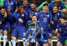 esultanza Chelsea Champions League
