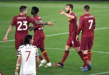 Cristante, Roma-Manchester Utd
