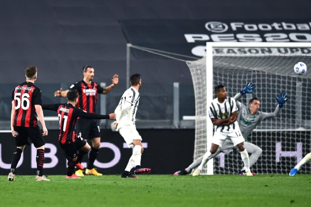 gol Diaz, Juventus-Milan