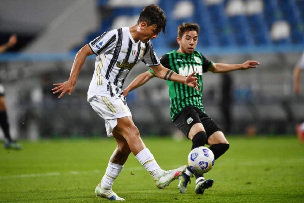 gol Dybala, Sassuolo-Juventus