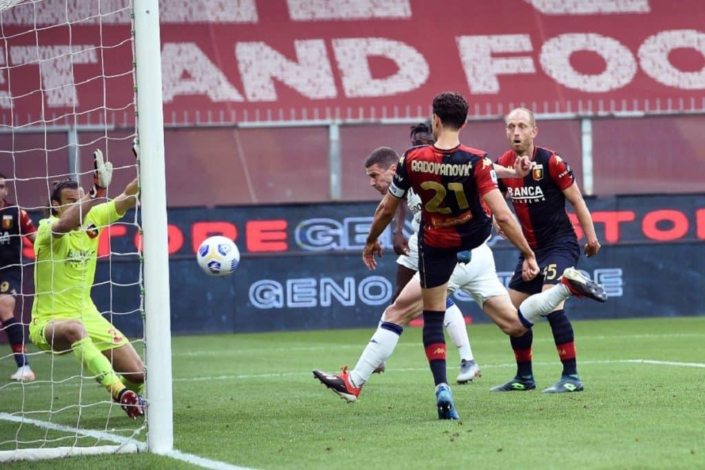 gol Gosens, Genoa-Atalanta