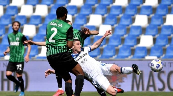 gol Gosens, Sassuolo-Atalanta