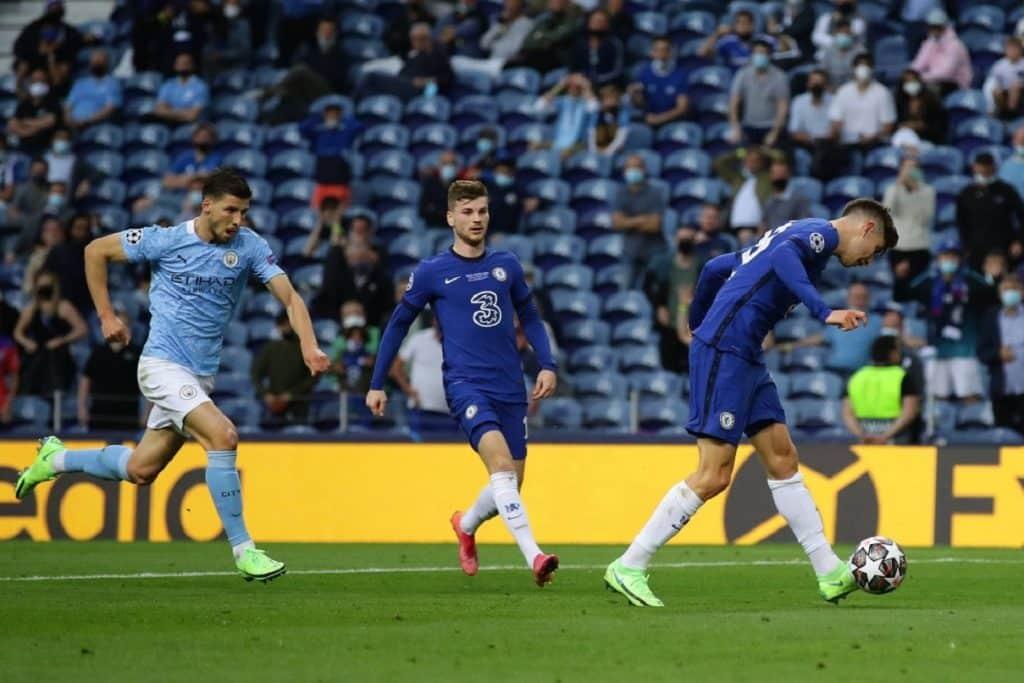 gol Havertz, Manchester City-Chelsea