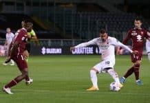 gol Theo Hernadez, Torino-Milan