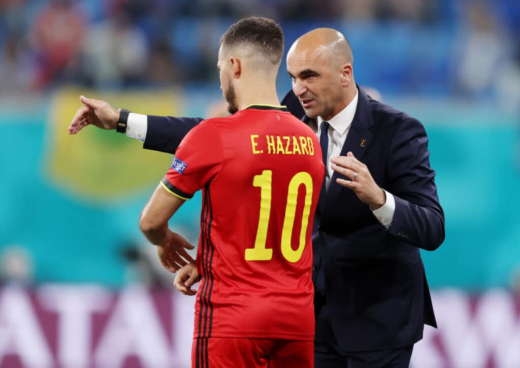 Martinez e Hazard, Belgio