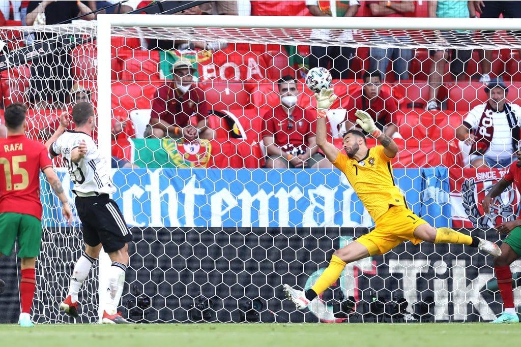 Gol de Goossens, Portugal e Alemanha