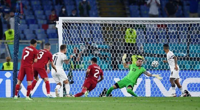 gol Immobile, Turchia-Italia