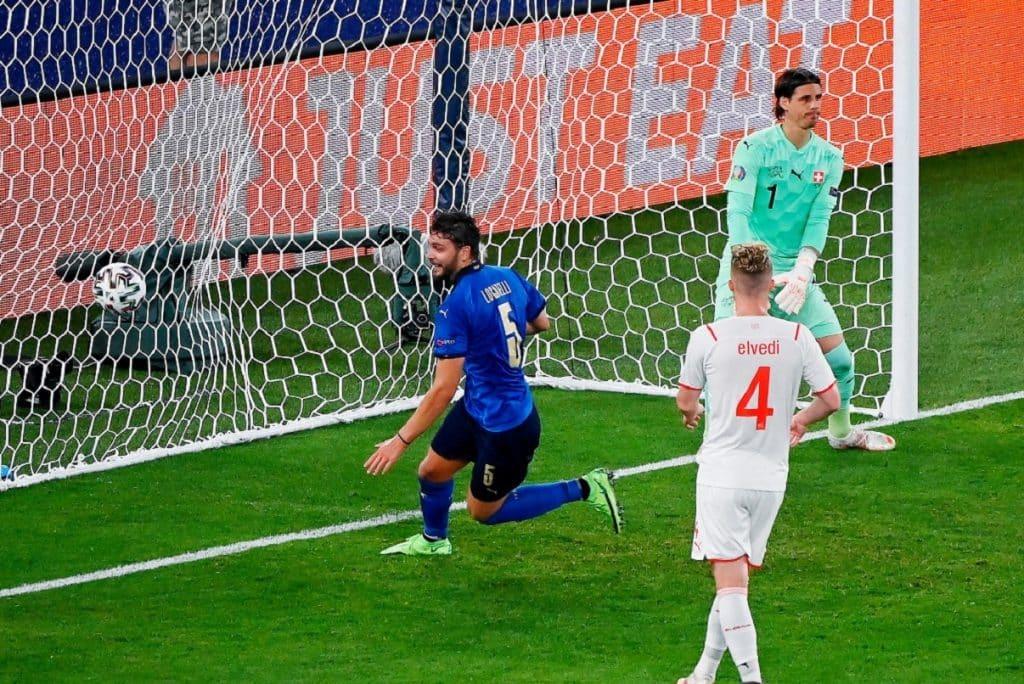gol Locatelli, Italia-Svizzera