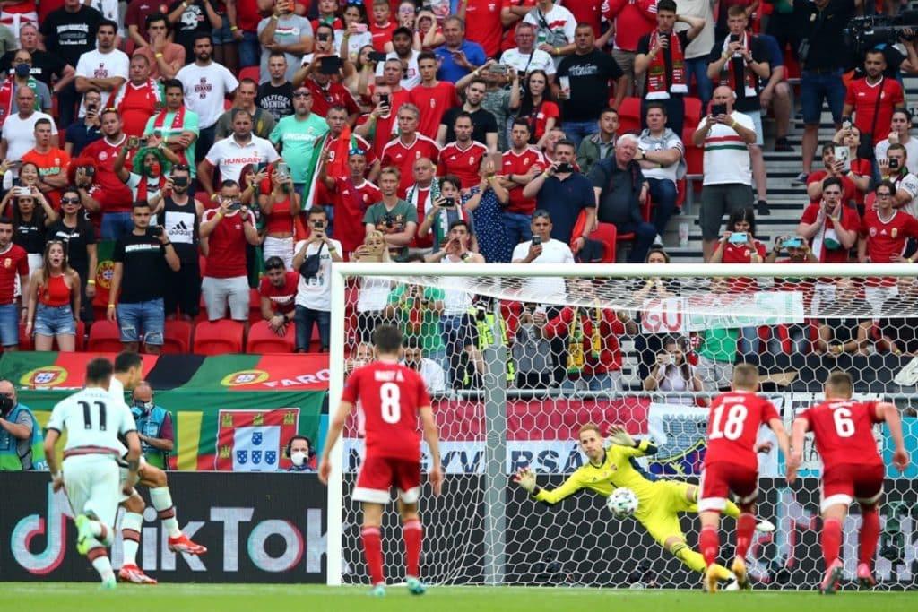Gol de cobrança de pênalti de Ronaldo, Hungria x Portugal