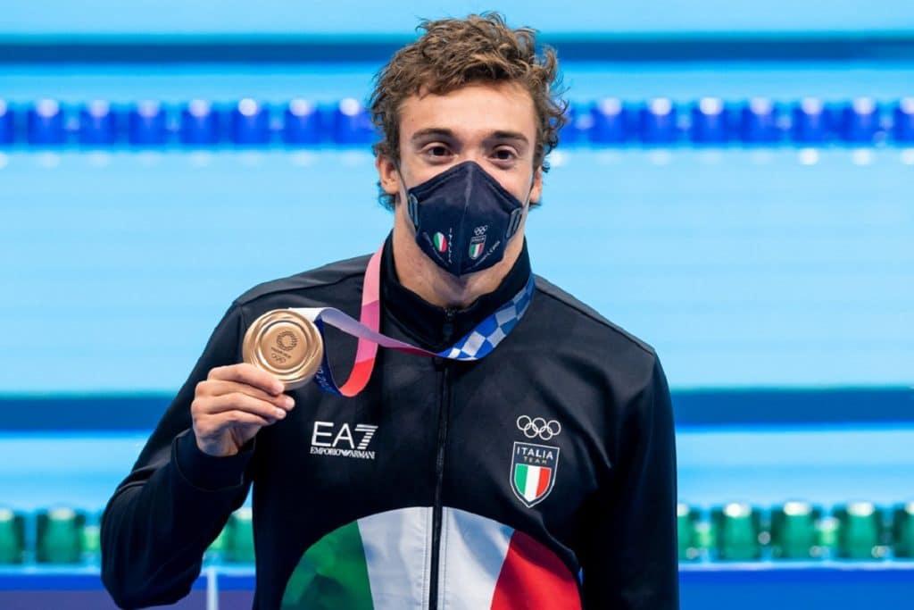 Federico Burdisso, argento 200m farfalla - Olimpiadi Tokyo
