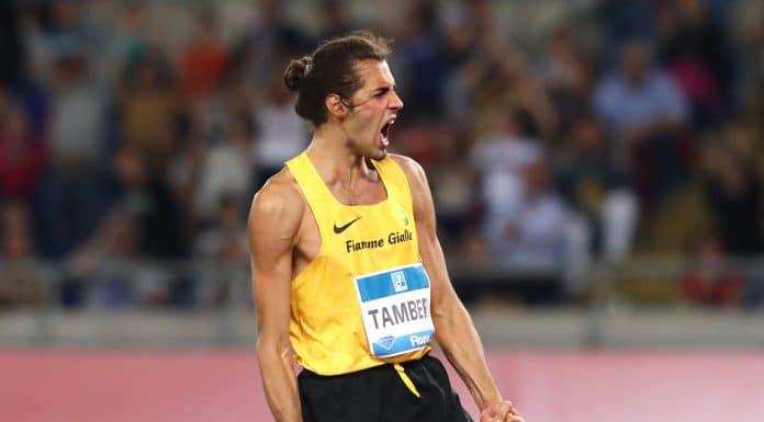Gianmarco Tamberi, salto in alto