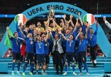 Italia alza la Coppa, Euro 2020