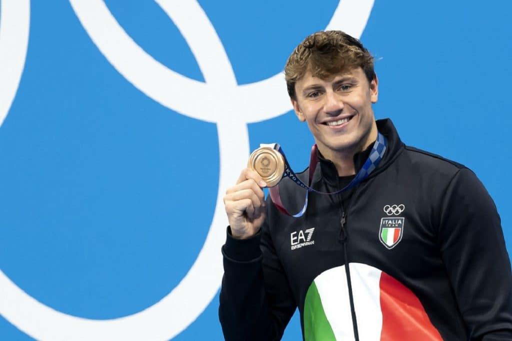 Nicolò Martinenghi, bronzo 100m rana