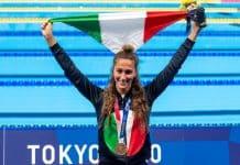 Simona Quadarella, bronzo 800m stile libero Olimpiadi