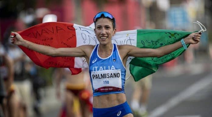 Antonella Palmisano, oro Marcia 20km
