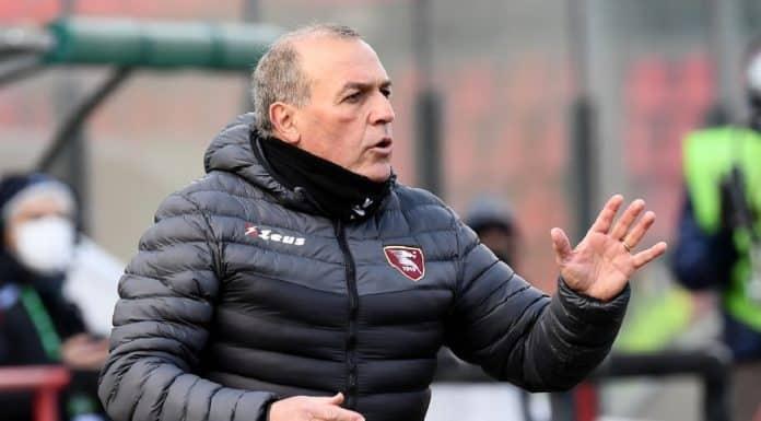 Fabrizio Castori, allenatore Salernitana