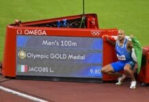 Jacobs, medaglia d'oro - Olimpiadi Tokyo 2020