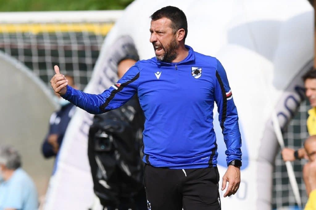 Roberto D'aversa, allenatore Sampdoria