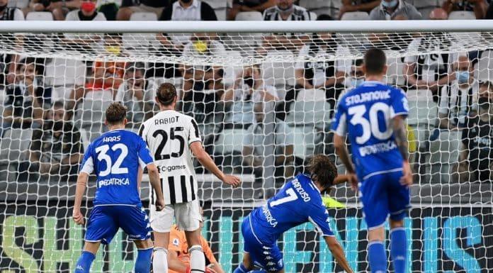 gol Leonardo Mancuso, Juventus-Empoli