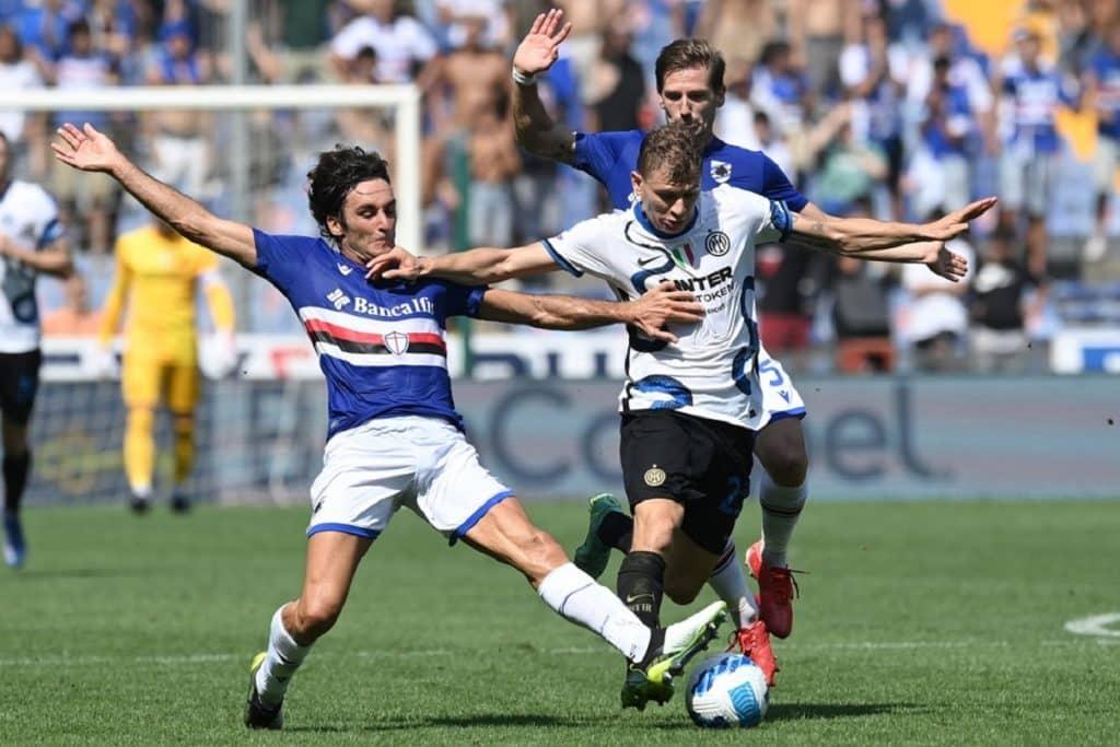Barella-Augello-Silva, Sampdoria-Inter