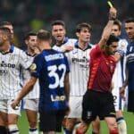 arbitro Maresca durante Inter-Atalanta
