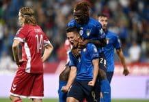 esultanza gol Raspadori e Kean, Italia-Lituania